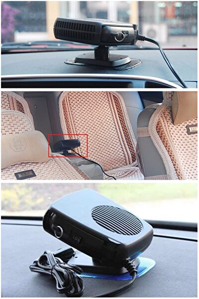 Mobee Araç Içi Fan Oto Isıtıcı Soğutucu 12v Cam Buğu Çözücü Pratik