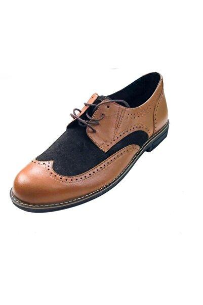 Cemre Ayakkabıcılık Erkek Kahve Rengi Arajman Boy Uzatan Ayakkabı