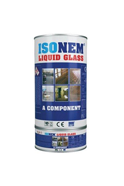 Isonem Liquid Glass Sıvı Cam Şeffaf Ve Parlak Su Izolasyonu 2 Kg