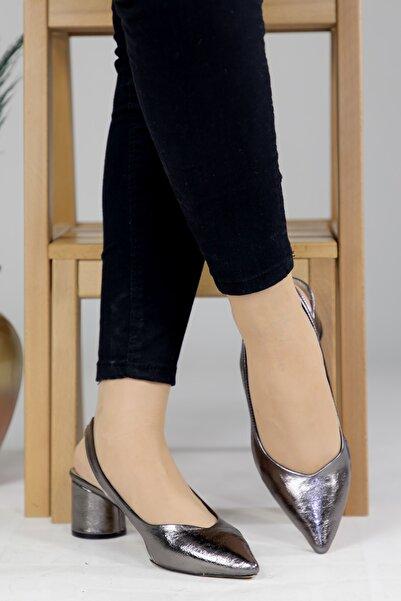 Oioi Kadın Platin Topuklu Ayakkabı 1003-119-0002_1014