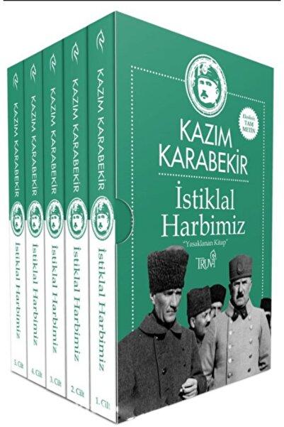 Truva Yayınları Istiklal Harbimiz - Kazım Karabekir 5 Cilt Kutulu