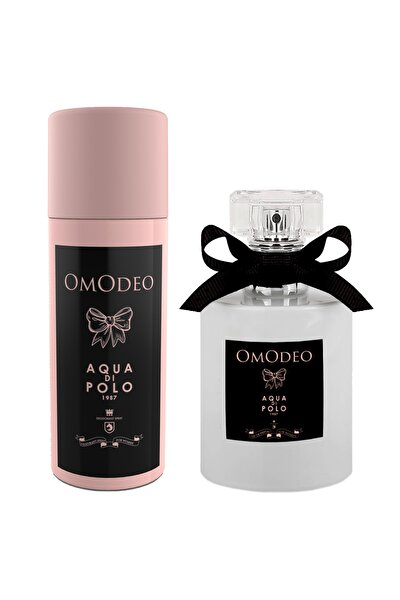 Aqua Di Polo 1987 Omodeo  Edp 50 ml Kadın Parfüm Seti Stcc005201