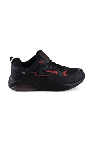 Genesis Erkek Siyah Sneaker Spor Ayakkabı