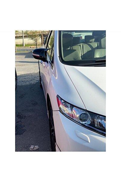 ünlütürkotoaksesuar Honda Civic Fb7 Yarasa Ayna Kapağı Parlak Siyah Aynı Gün Kargo