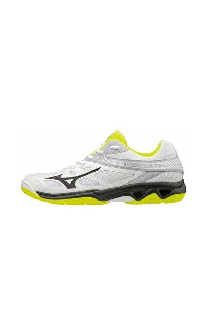 MIZUNO Thunder Blade Voleybol Ayakkabısı Gri/sarı