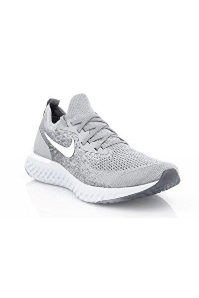 Nike Erkek Gri Bağcıklı Sneaker