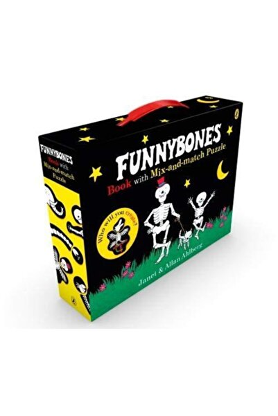 Penguin Books Funnybones Book With Mix-and-match Puzzle