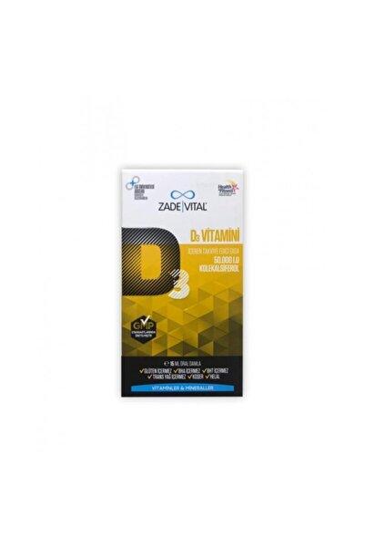 Zade Vital Zadevital D3 Vitamini Oral Damla 15 ml 50.000 I.u