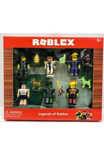 oyuncakchi Roblox Figür Oyuncak Aksesuarlı 12 Parça Set Kutulu Robloks