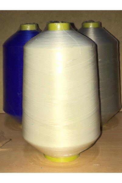 SERDAR İPLİK 150 Denye Renkli ( Muz ) Polyester Overlok Ipliği Ekru