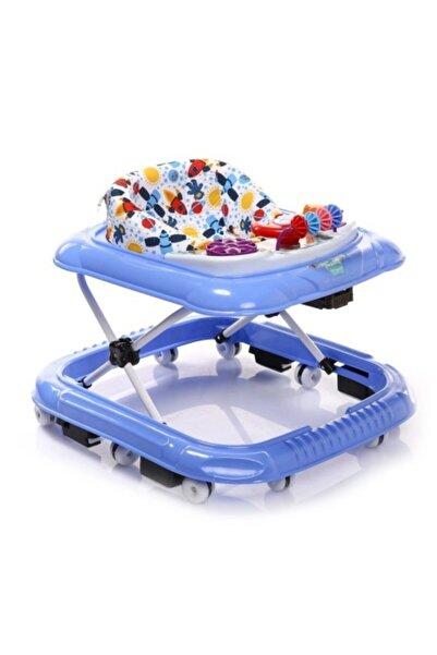 Taşpınar Mavi Kikkoro Speedy Tekerlekli Bebek Yürüteci