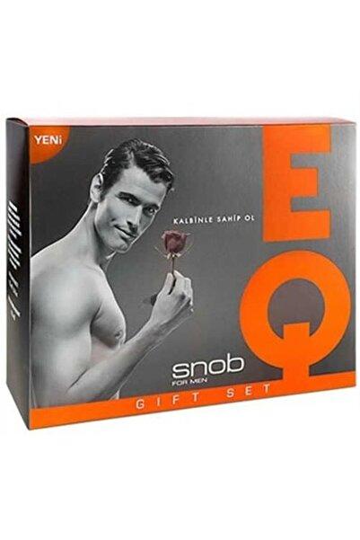 Snob Eq Edt 100 ml 150 ml Deodorant Erkek Parfüm Seti