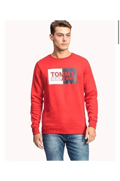 Tommy Hilfiger Tjm Essentıal Logo Sweatshırt
