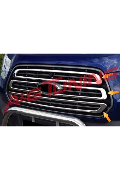 KromGaraj Ford Transit Krom Ön Panjur 3 Prç. 2014-2018 Arası P.çelik