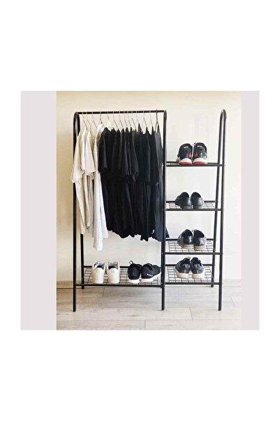 Weblonya Elbise Askısı Ayakkabılık Ayaklı Askılık 3072
