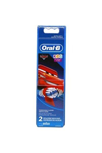 Oral-B Cars Çocuklar Için 2'li Diş Fırçası Yedek Başlığı