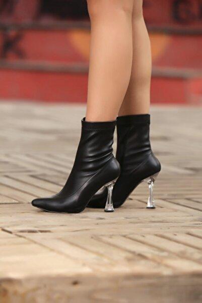 Gamze Shoes Kadın  Siyah Ayakkabı