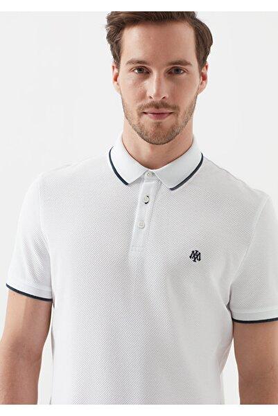 Mavi Erkek Beyaz Polo Tişört 066039-620