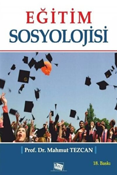 Anı Yayıncılık Eğitim Sosyolojisi
