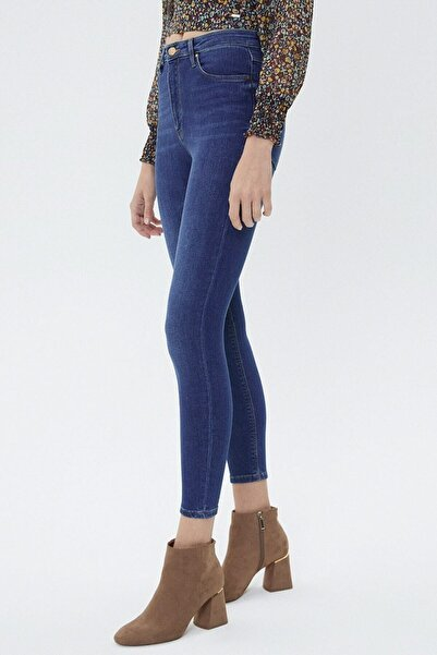 Loft Kadın Mavi Skinny Fit Jeans