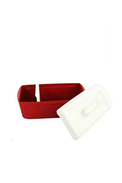 Tupperware Kırmızı Ekmeklik