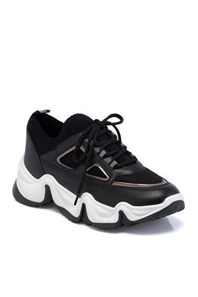Tergan Kadın Siyah Vegan Ayakkabı 65287d62