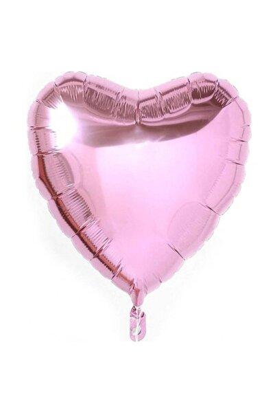 BalonEvi Pembe Kalp Folyo Balon 45 Cm