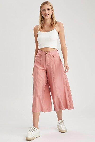 DeFacto Culotte Cepli Dokuma Pantolon