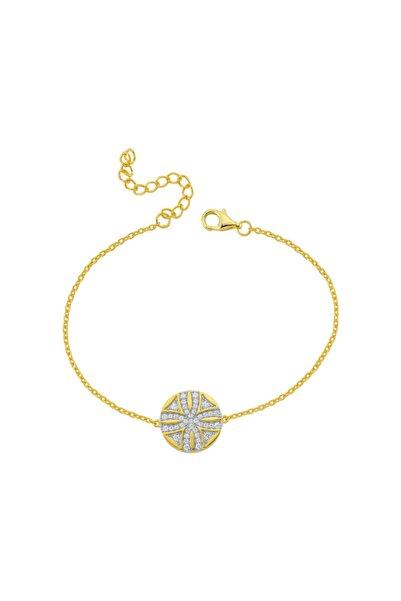 Luzdemia Kadın Altın Sirius Yıldız 925 Ayar Gümüş Bileklik
