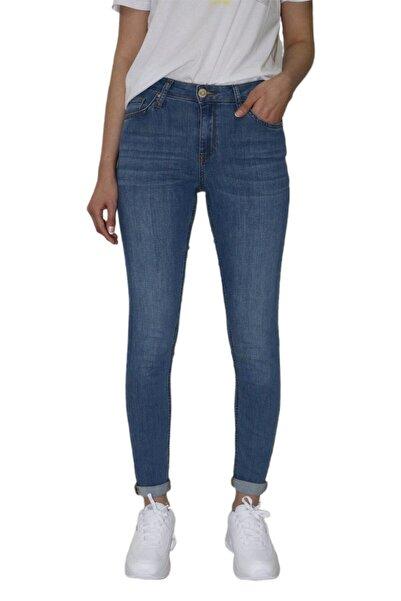 Loft Kadın Mavi Slim Fit Nicole Pantolon