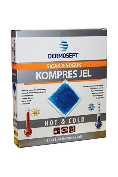 DERMOSEPT Sıcak Soğuk Termo Jel Kompres Buz Jel Termojel 13*13