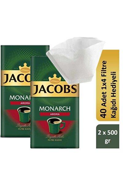 Jacobs Monarch Aromalı Filtre Kahve Filtre Kağıdı Hediyeli 2 X 500 gr