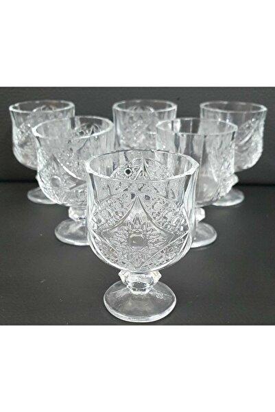 Kristal Cristal Ayaklı Kahve Yanı Bardağı