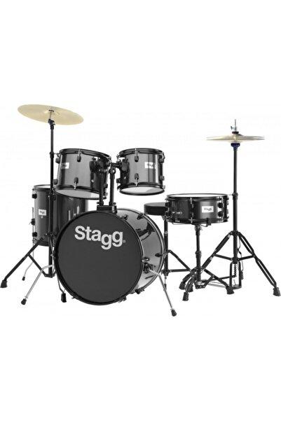 STAGG Tım120b Bk - 5 Parça - 20 Davul Seti