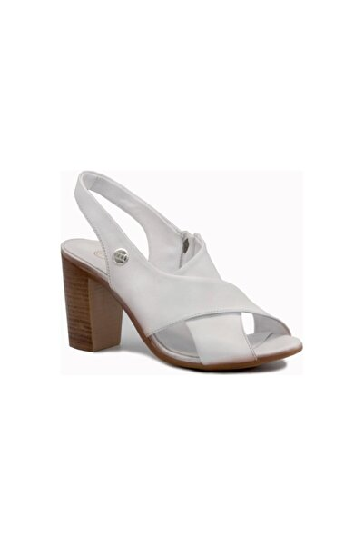 Mammamia D20ys1050 Beyaz Terlik Sandalet