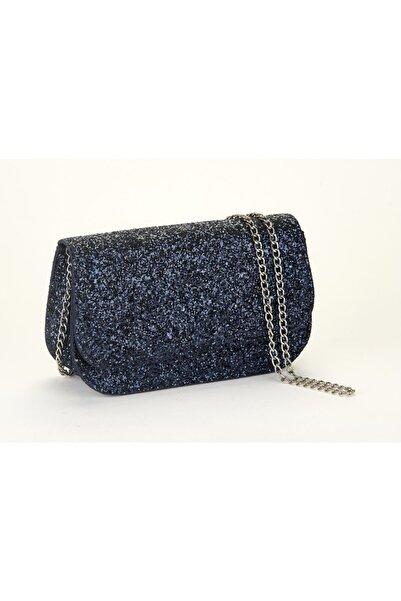 Coquet Accessories Kadın Mavi Gece Çantası-19g3u13n440