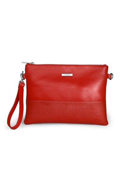 Coquet Accessories Kadın Kırmızı Base Clutch Çanta-19g3u13n373