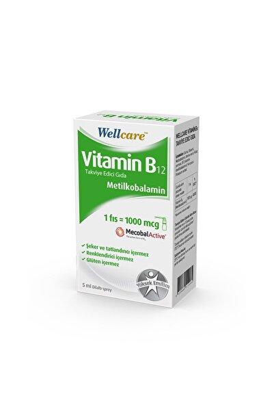 Wellcare Vitamin B12 1000 Mcg Sprey 5ml