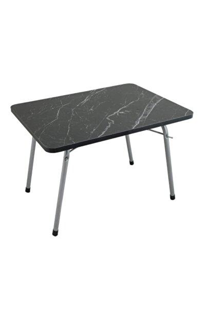 Byeren Piknik Sehpa 45*60 Granit Siyah