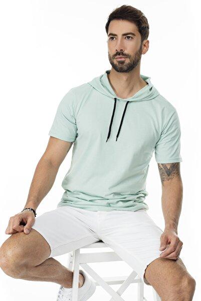 Buratti Slim Fit Kapüşonlu T Shirt ERKEK T SHİRT 5412021