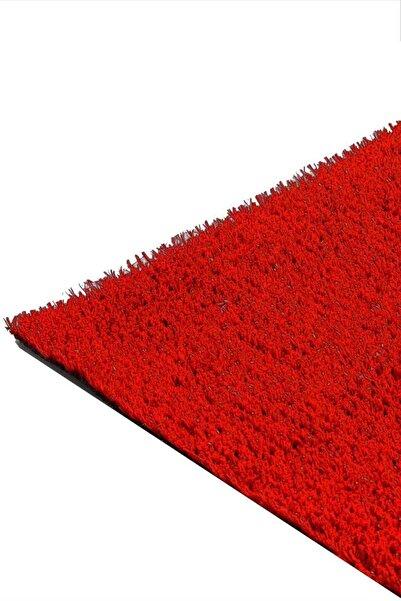 ISM - Suni Yapay Çim Halı Serisi - 7mm - Kırmızı - En 1 Metre