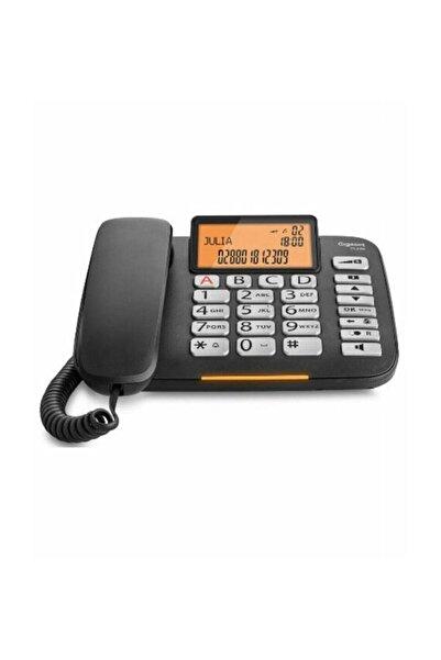 GIGASET GİGASET DL580 Siyah Masaüstü Kablolu Telefon