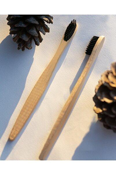 İndirimKap Antibakteriyel Doğal Bambu Hassas Diş Etleri İçin Yumuşak Diş Fırçası