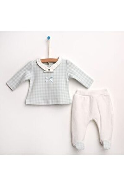 Bebek Kadife Patikli Alt-sweatshirt