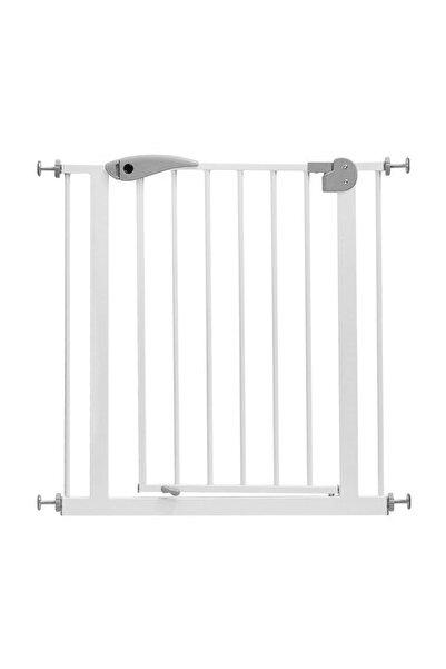 Baby&Plus Beyaz Otomatik Kapanan Bebek Güvenlik Kapısı