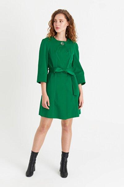 Icon Kadın Yeşil Şimal Trençkot 4192.