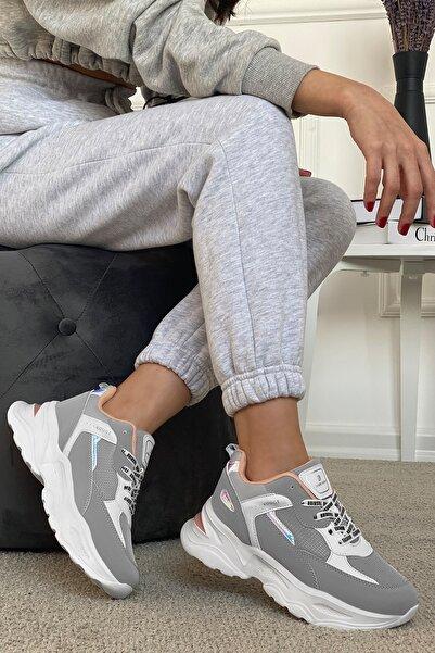 DARK SEER Buz Beyaz Kadın Sneaker