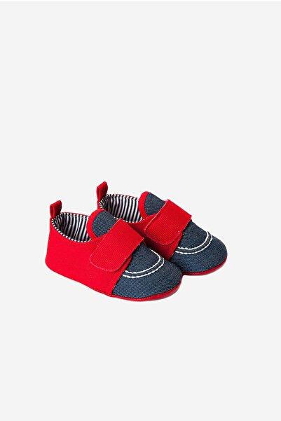 Funny Baby Cırtlı Kot Bebek Ayakkabısı