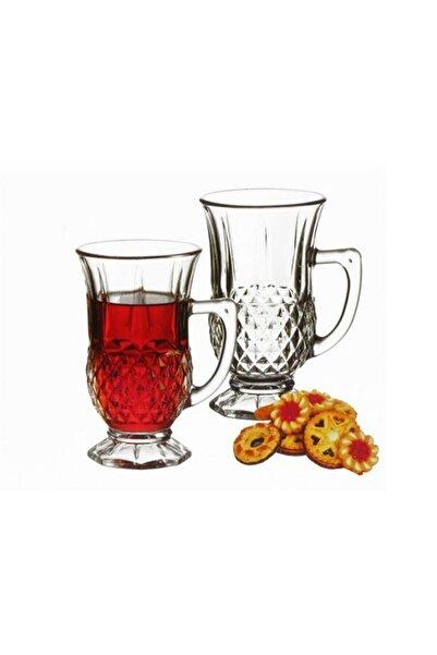 Paşabahçe İstanbul Kulplu 6'lı Çay Bardağı