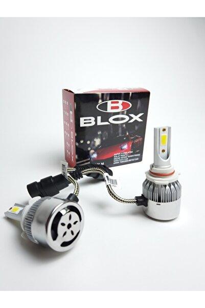 BLOX H7 Soğutmalı Led Xenon Led Zenon 10800 Lümen 6000 Kelvin Şimşek Etkili Led Xenon Far Ampulü